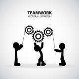 Grafisk design för teamwork Royaltyfria Foton
