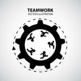 Grafisk design för teamwork Royaltyfri Foto