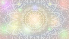 Grafisk design f?r abstrakt mandala royaltyfri illustrationer