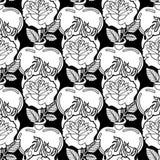 Grafisk hjärta med blomman stock illustrationer
