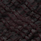Grafisk mörk textur Royaltyfri Bild