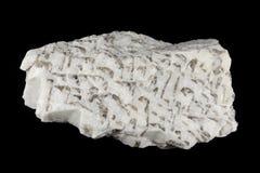 Grafisk pegmatite vaggar intergrowths av kvarts och fältspat Arkivfoton