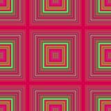 Grafisk rastermodell, digital fyrkant symmetri vektor illustrationer