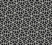 grafisk sömlös modell för geometriskt tegelplattaraster Fotografering för Bildbyråer
