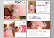 Grafiska affärsmallar för blogg Mall för sidawebsitedesign, abstrakt vektororientering kyssande romantiker för par royaltyfri illustrationer