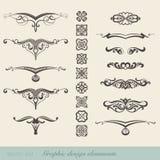 Grafiska beståndsdelar Royaltyfri Illustrationer