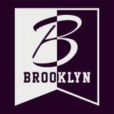 Grafiska BROOKLYN Fotografering för Bildbyråer