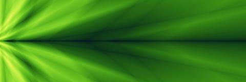 Grafiska gröna widescreen abstrakta mallar Royaltyfri Bild