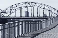 Grafiska linjer av den moderna staden Arkivbilder