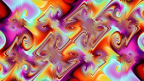 Grafiska Spiro, widescreen Royaltyfri Bild