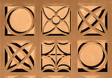Grafiska texturer med droppskugga Royaltyfria Foton