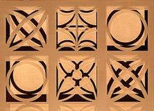 Grafiska texturer med droppskugga Arkivbild