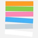 Grafiskt färga bommar för royaltyfri illustrationer