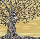 Grafiskt träd. Arkivfoton