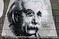 Grafite di Einstein immagini stock libere da diritti