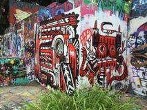 Grafiti公园 库存照片