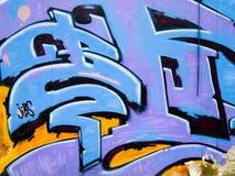 Grafiti. Color Grafiti on the wall Stock Photography