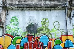 Grafiti Foto de Stock Royalty Free
