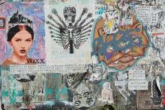Grafitii et art urbain à Portland, Orégon image stock
