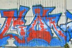 Grafitii i Miastowa sztuka w Portland, Oregon obrazy stock