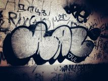 grafito Imagen de archivo libre de regalías