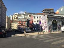 Grafitowa sztuka przy czasem out wprowadzać na rynek Zdjęcie Royalty Free