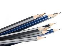 grafitowi ołówki zdjęcia stock
