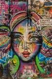 4 grafitti Arkivbilder