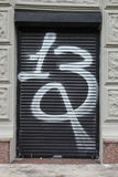 Grafitti 13 Arkivfoto