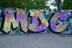 grafitti Royaltyfri Foto