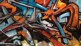 Grafitti art.. Royalty Free Stock Photos