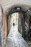 Grafitti on a backstreet in Venice, Italy Royalty Free Stock Image