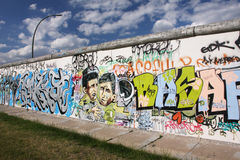 Grafitti Berlin Royaltyfri Foto