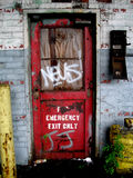 Grafitti Door - Vertical Royalty Free Stock Photo