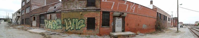 Grafitti ett verkligt problem i mest städer Arkivbilder