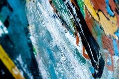 Grafitti - gatakonst - målning royaltyfri foto