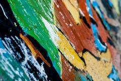 Grafitti - gatakonst - målning Arkivbilder