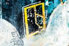 Grafitti - gatakonst - målning arkivfoto