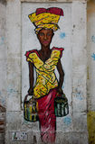 Grafitti i Barcelona Royaltyfri Foto