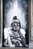 Grafitti i Bryssel Arkivbilder