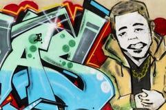 Grafitti i havannacigarren, Kuba Royaltyfri Bild