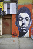 Grafitti i New York City royaltyfri illustrationer