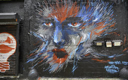 Grafitti i New York City Royaltyfria Bilder
