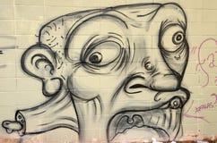 Grafitti i Sao Paulo arkivfoto