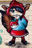 Grafitti på den första verkliga turneringen av Puerto Arkivbild