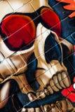 Grafitti på den första verkliga turneringen av Puerto Royaltyfria Bilder