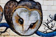 Grafitti på den första verkliga turneringen av Puerto Arkivbilder