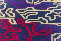 Grafitti på en vägg Vektor Illustrationer