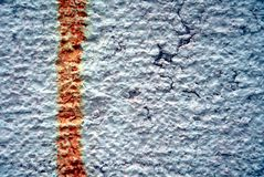 Grafitti, paint on old antique Venetian walls Royalty Free Stock Image