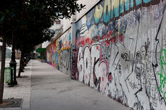 grafitti paris s Royaltyfri Bild